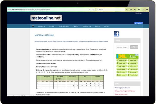 Mateonline.net Romanian maths Forum